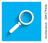 magnifying glass icon | Shutterstock .eps vector #289179446