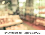 blurred background   product on ...   Shutterstock . vector #289183922