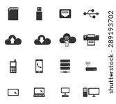 network icons vector eps. | Shutterstock .eps vector #289193702