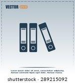 archive folders vector icon