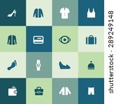 clothes icons universal set for ...   Shutterstock .eps vector #289249148
