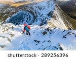A Hiker Descending Helvellyn...