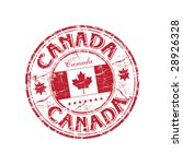red grunge rubber stamp with... | Shutterstock .eps vector #28926328