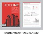 creative brochure template... | Shutterstock .eps vector #289264832