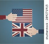 united states and great britain ... | Shutterstock .eps vector #289271915