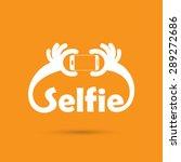 taking selfie portrait photo on ... | Shutterstock .eps vector #289272686