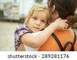 mom and daughter close up. | Shutterstock . vector #289281176