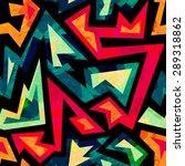 african geometric seamless... | Shutterstock .eps vector #289318862