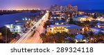 hollywood florida  usa. night... | Shutterstock . vector #289324118