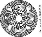 celtic knot  74 | Shutterstock .eps vector #28932532