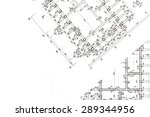 part of architectural project ... | Shutterstock . vector #289344956