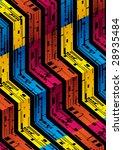 terraced tech pattern   Shutterstock .eps vector #28935484