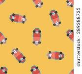 skateboard flat icon eps10... | Shutterstock .eps vector #289388735