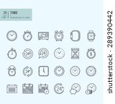 thin line icons set. icons for... | Shutterstock .eps vector #289390442
