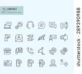 thin line icons set. icons for... | Shutterstock .eps vector #289390988