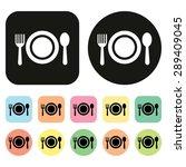 food sign. food symbol. food... | Shutterstock .eps vector #289409045