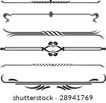 set of elements for design ... | Shutterstock .eps vector #28941769