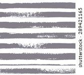 brush stripes vector seamless... | Shutterstock .eps vector #289421165