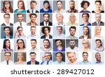 diverse people. collage of... | Shutterstock . vector #289427012