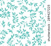 hand drawn vector seamless... | Shutterstock .eps vector #289427225