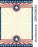 usa grunge star poster. an...   Shutterstock .eps vector #289428032