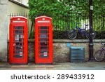 Twin Red British Telephone...