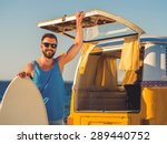 finally summer  smiling young... | Shutterstock . vector #289440752