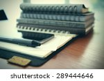 smart phone close up   planning ... | Shutterstock . vector #289444646