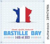 france map  flag background.... | Shutterstock .eps vector #289476986