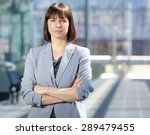 close up portrait of a serious... | Shutterstock . vector #289479455