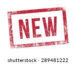 stamp new | Shutterstock .eps vector #289481222