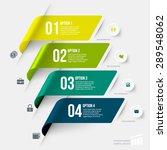 modern infographics element... | Shutterstock .eps vector #289548062