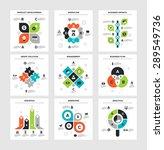 vector illustration of business ... | Shutterstock .eps vector #289549736