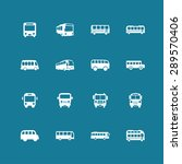 bus icon set | Shutterstock .eps vector #289570406