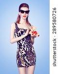 beauty  fashion sexy slim model ... | Shutterstock . vector #289580726
