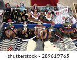 traditional dolls from... | Shutterstock . vector #289619765