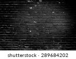 the brick texture with cracks... | Shutterstock . vector #289684202