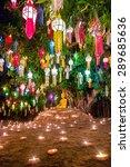 Loy Kratong Festival In Wat Pa...
