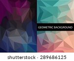 geometric patterns set.... | Shutterstock .eps vector #289686125