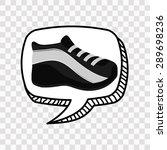 shoes design  vector... | Shutterstock .eps vector #289698236
