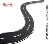 vector road | Shutterstock .eps vector #289724588