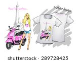 design t shirts for printing  a ... | Shutterstock .eps vector #289728425