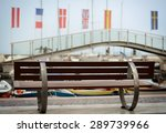 the bench on the port | Shutterstock . vector #289739966