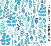 vector forest design  floral... | Shutterstock .eps vector #289758482