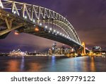 east side of sydney harbour... | Shutterstock . vector #289779122