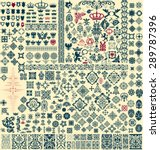 design elements set | Shutterstock .eps vector #289787396
