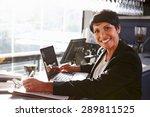 female restaurant manager... | Shutterstock . vector #289811525
