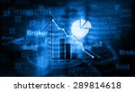 stock market chart     Shutterstock . vector #289814618