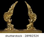 detail of the intricate gold on ...   Shutterstock . vector #28982524