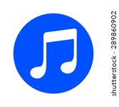 music note icon. musical symbol....